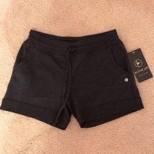 Black Women's Active-wear Shorts